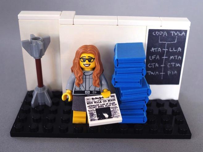 Margaret Hamilton de Lego