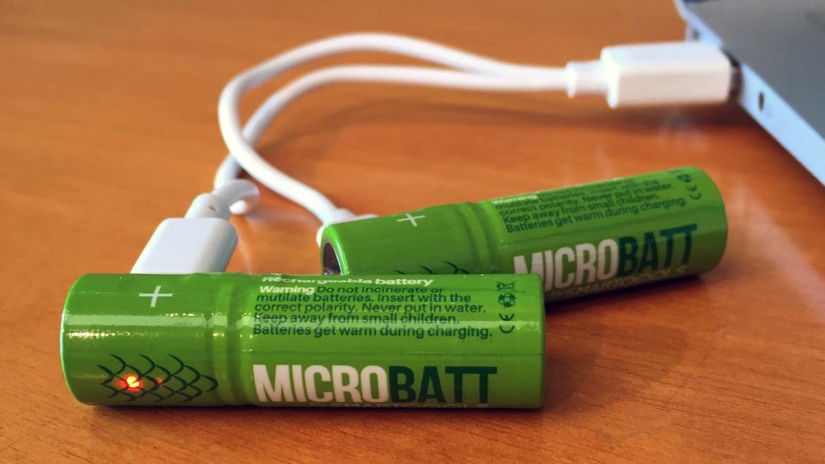 Microbatt cargándose