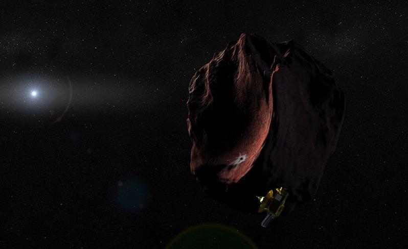 New Horizons y 2014 MU69