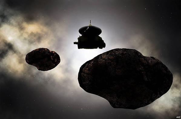 La New Horizons en MU69