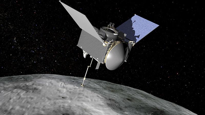 La NASA está lista para tomar muestras del asteroide Bennu con la sonda Osiris-REX