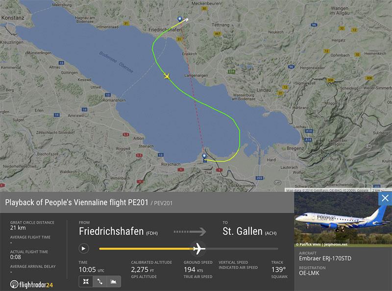 PE201 Friedrichshafen - St. Gallen