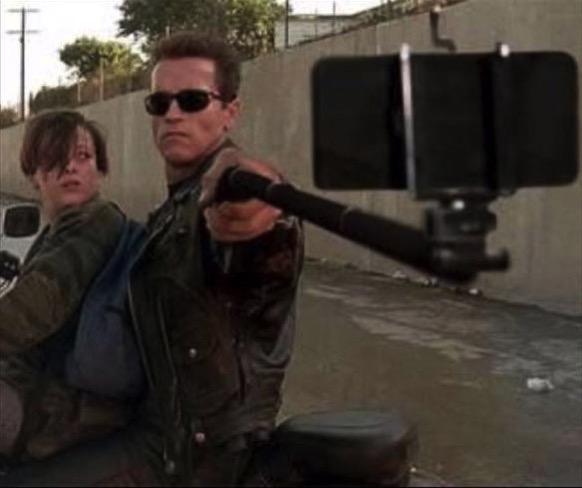 Hasta el selfie, baby