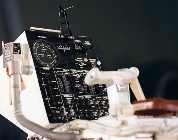 Panel de control del LRV