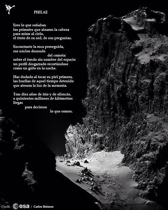 Philae por Carlos Briones