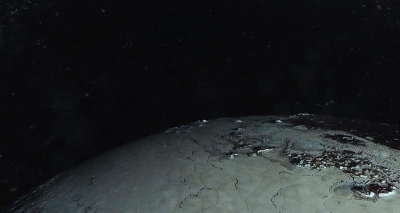 Plutón visto por la New Horizons