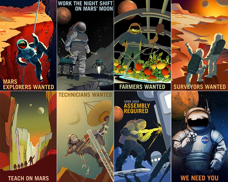 La NASA te necesita en Marte