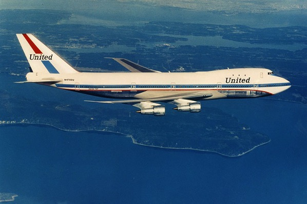 Friend Ship, el primer 747 de Unired