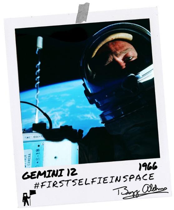Primer selfie en el espacio