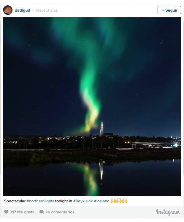 Reykjavik a oscuras por dadigud