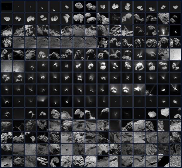 Rosetta en 210 imágenes