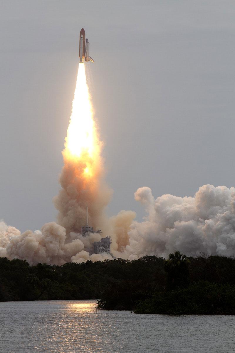 Último lanzamiento del Atlantis