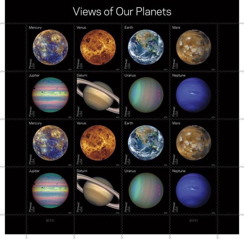 Vistas de nuestros planetas