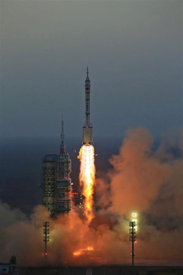 Lanzamiento de la Shenzou 11