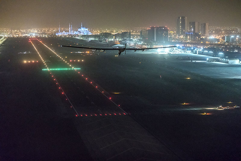 Aterrizaje final en Abu Dhabi