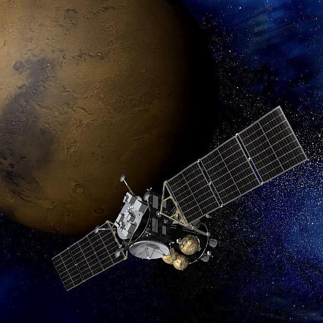 Impresión artística de la sonda MMX