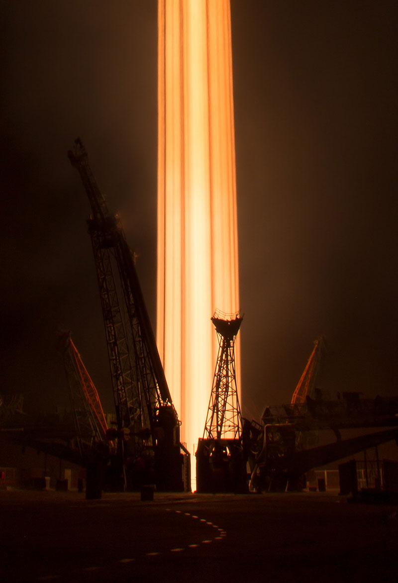 Despegue de la Soyuz MS-03