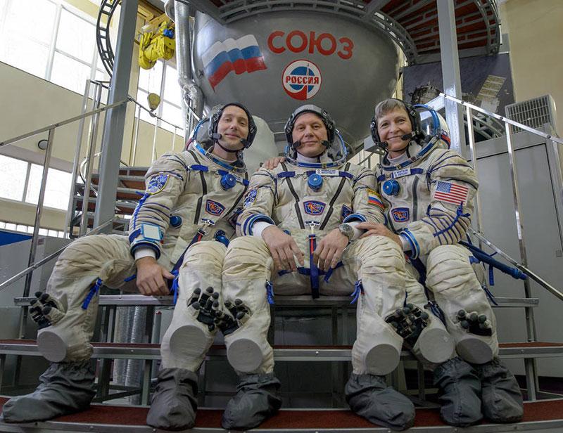 Tripulación de la Soyuz MS-03