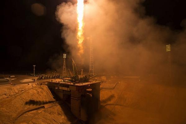 Despegue de la Soyuz MS-06