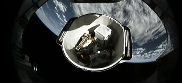 El maletero de la SpX-11