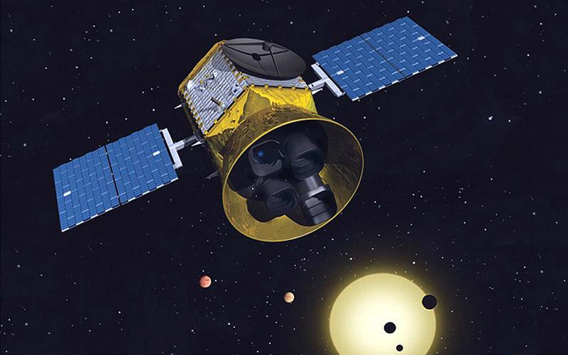 TESS en órbita
