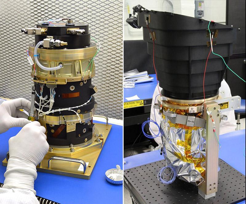 Uno de los telescopios de TESS