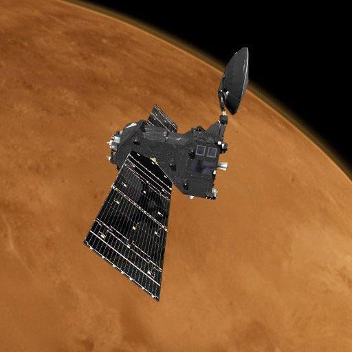 La TGO sobrevuela Marte