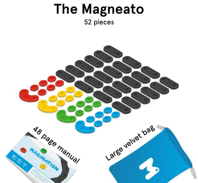 The Magneato - 52 piezas