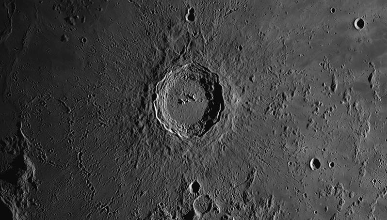 Cráter Copérnico por Thierry Legault