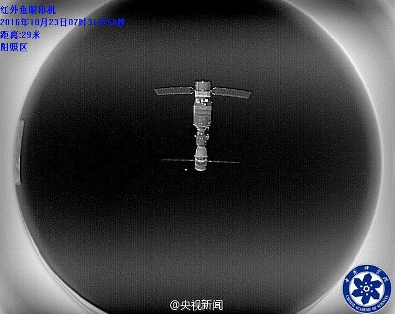 Tiangong–2 desde el Banxing–2