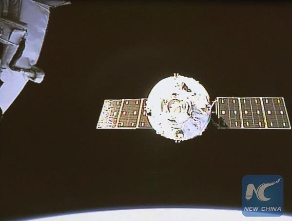 Tianzhou-1 a punto de acoplarse