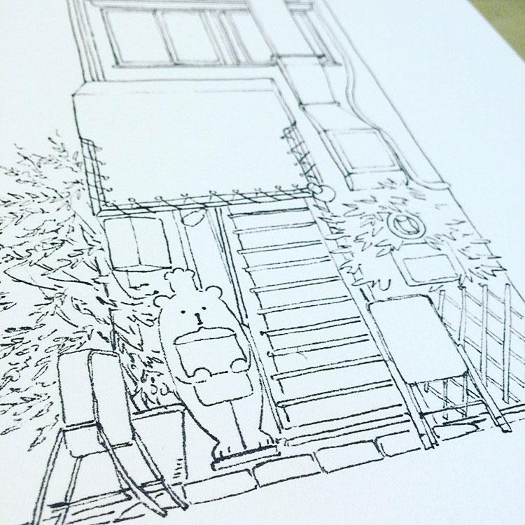 Empezando el dibujo