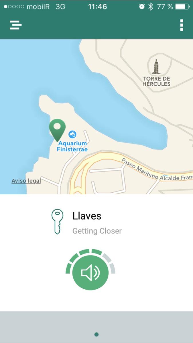 La app en acción