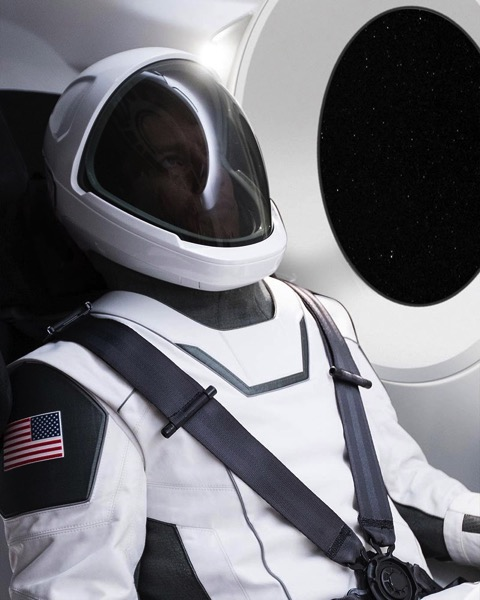 Traje espacial de SpaceX