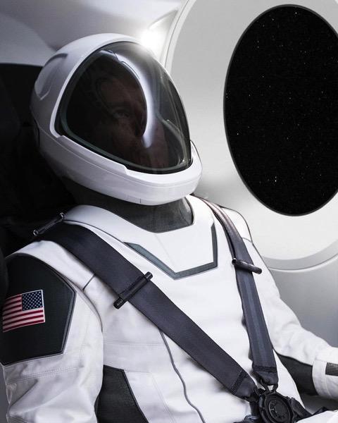 Traje espacial de SpaceX