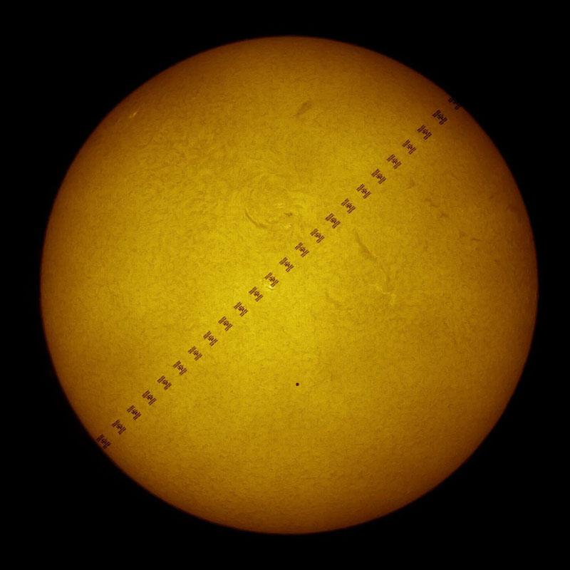 Tránsito de Mercurio por Thiery Legault