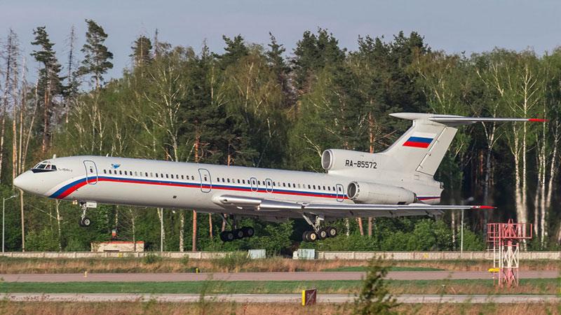 El avión siniestrado en mayo de 2016