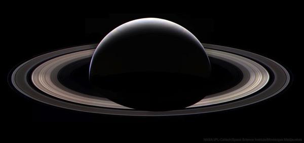 Última panorámica de Saturno por Cassini