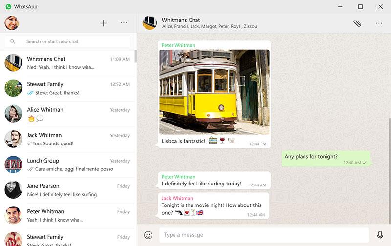 WhatsApp para escritorio