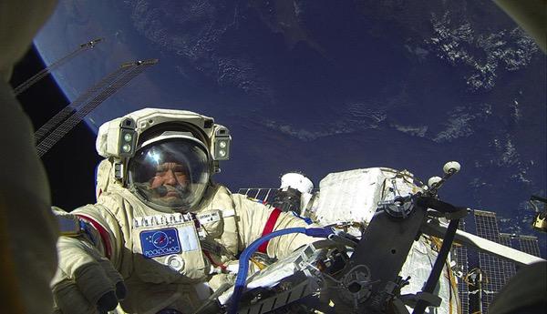 Yurchikhin y Ryazansky listos para salir al espacio